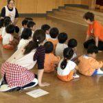 長崎県五島市福江幼稚園様へ 発表会の制作のための出張研修。